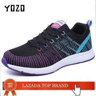 Giày Thể Thao Nữ YOZO, Giày Đi Bộ Thời Trang, Thoáng Khí, Giày Chạy Bộ Nữ Tính thumbnail