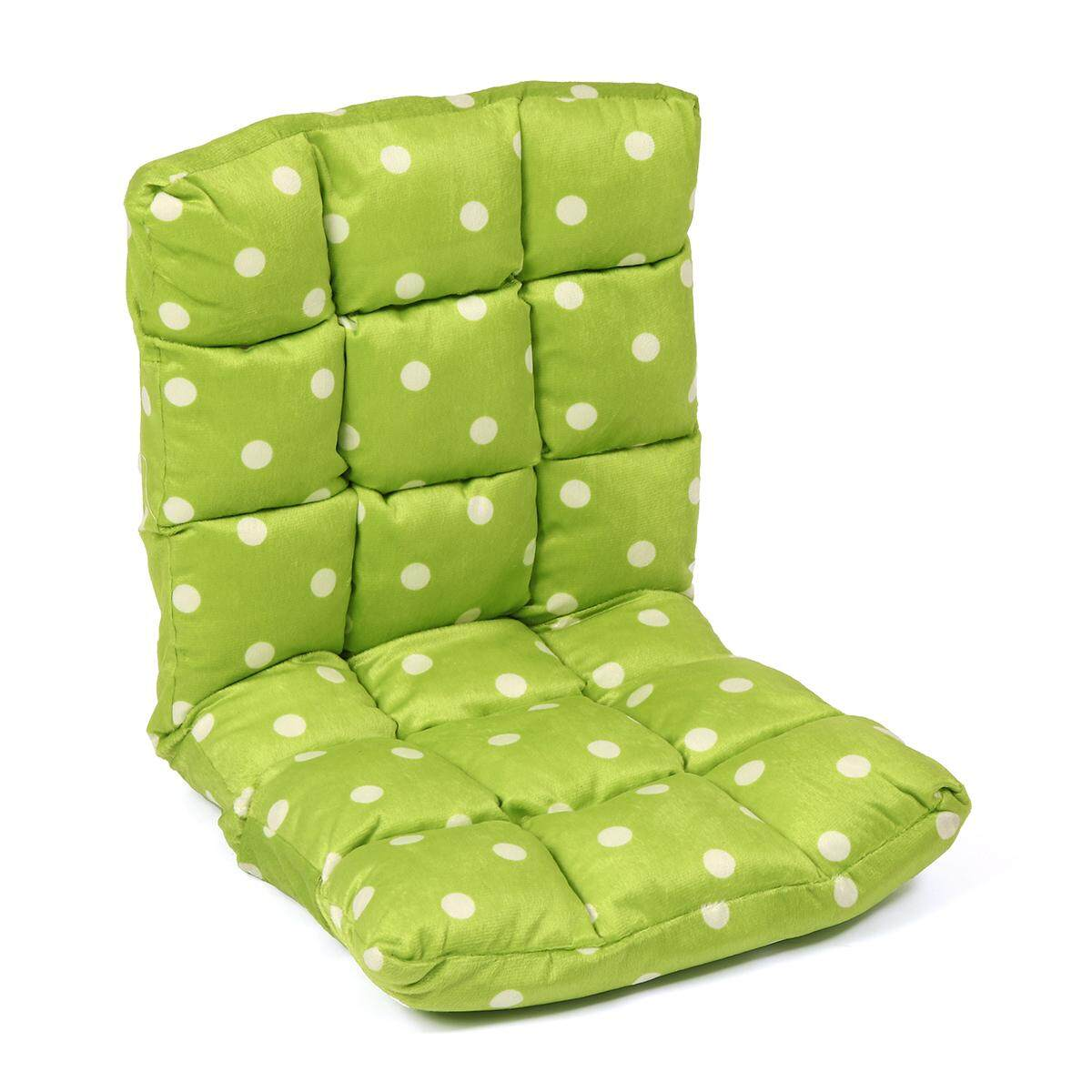 Lounge Sofa Floor Recliner Couch Folding Chair Cushion Fabric Portable