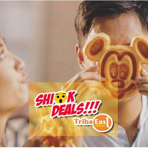 Hong Kong Disneyland 1 Day Pass + Meal Voucher