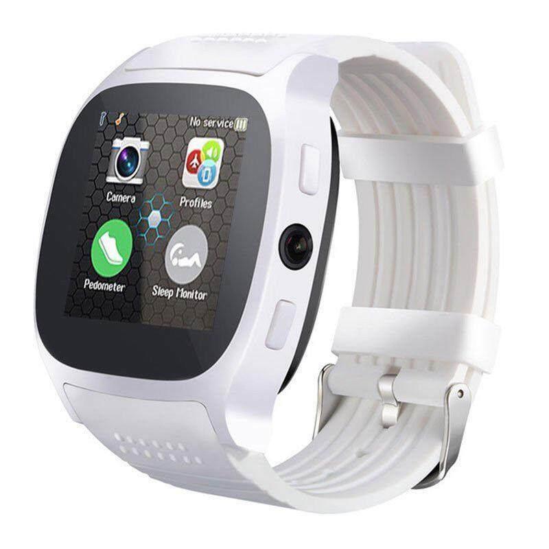 บลูทูธนาฬิกาโทรศัพท์อัจฉริยะ Mate Sim Fm เครื่องนับก้าวสำหรับ Android Ios Iphone Samsung.