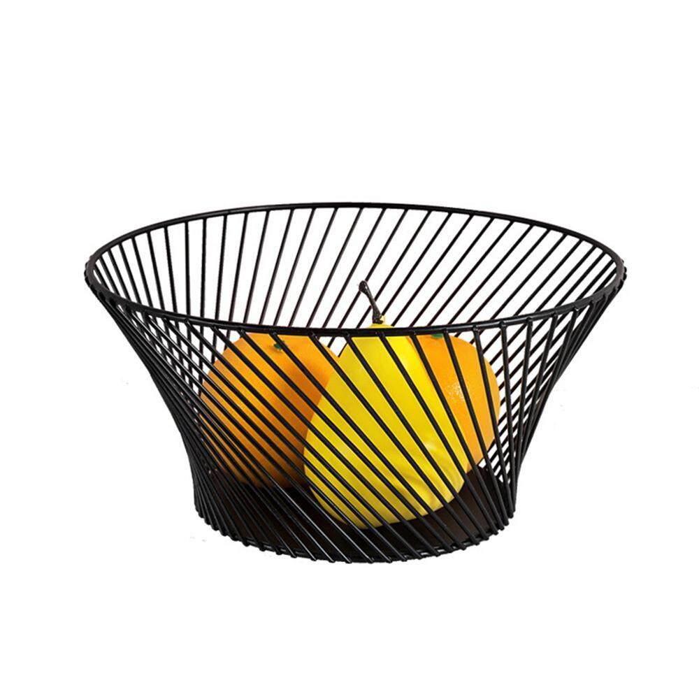 Goodgreat Wrought Iron Fruit Basket European-Style Living Room Large-Capacity Fruit Plate Multi-Functional Storage Basket Household Debris Basket By Good&great.