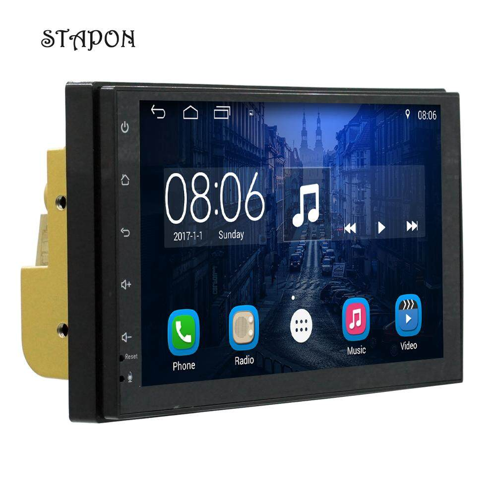 Stapon 7inch 2 Din Android Systerm7.1 Car Stereo With Bluetooth /wifi/ /gps/ Rear View/ Fm/usb Dvr/steering Wheel Control/usb 7175 By Stapon Electronic Store.