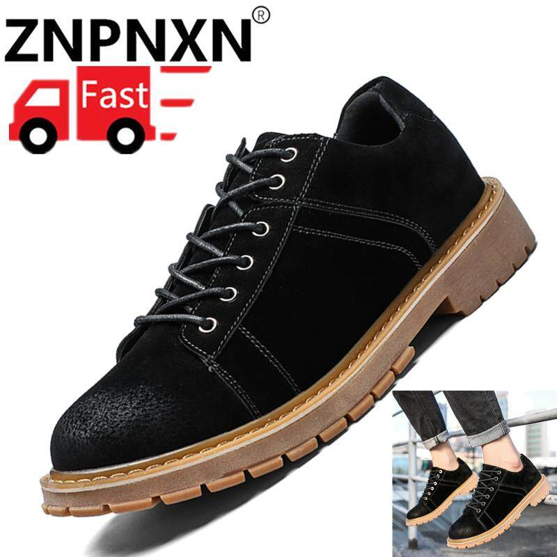 ZNPNXN Men s Outdoor Boots Martin Shoes Workwear Boots Outdoor Workwear Shoes  Men s Martin Boots Winter new 7acd177cd5