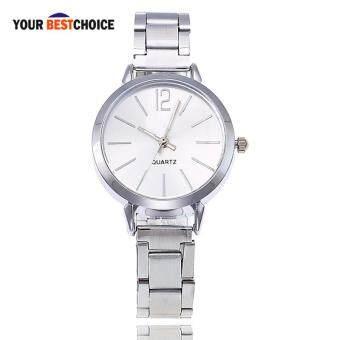 ส่วนลด YBC Women Quartz Wrist Watch Elegant Small Dial with Steel Strap Casual Watches ขายช็อก - มีเพียง ฿86.85