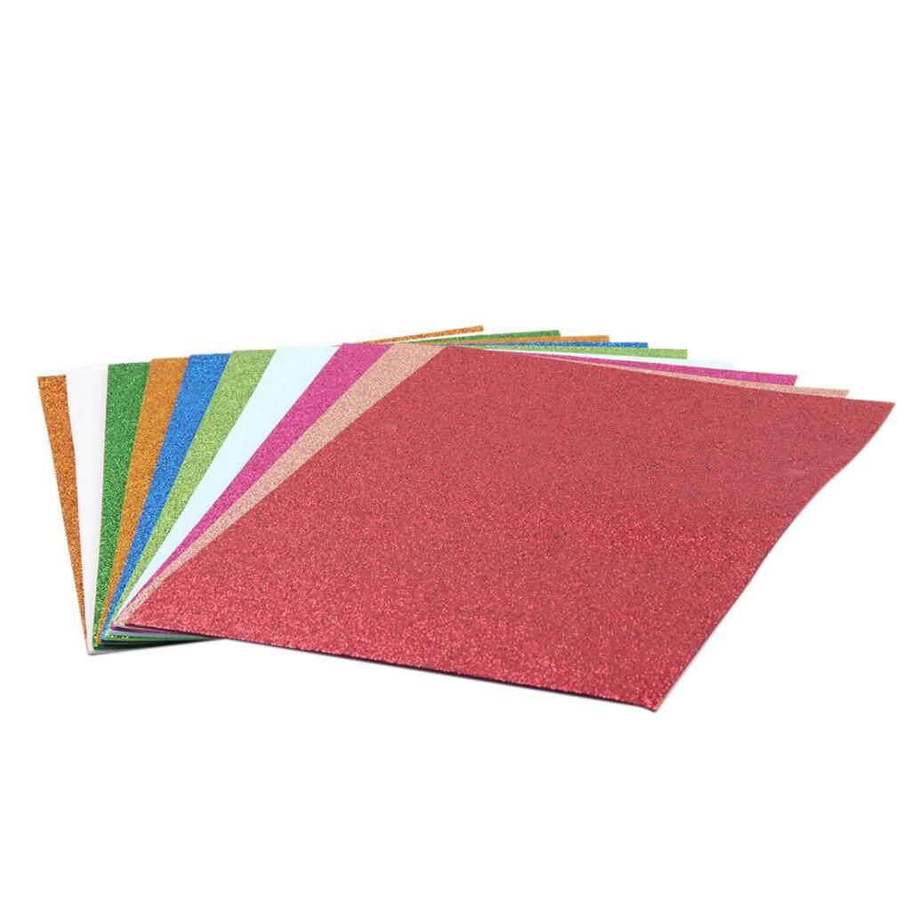 BolehDeals 10 Pieces Flash Bright Sponge Foam Paper Craft Match for Embossing Machine