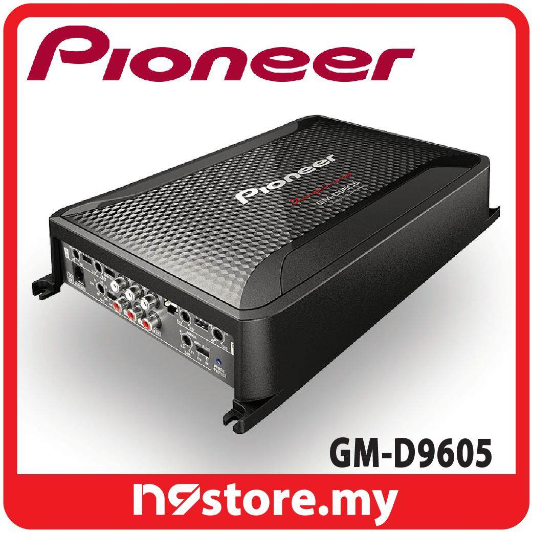 Pioneer GM-D9605 Class D 5 Channel Amplifier 75W X 4 AND 350W X 1 At 4 OHM