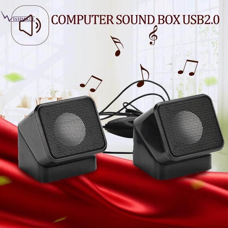 Allwin Bertenaga USB Audio Speaker Pengeras Headphone Jack Komputer Laptop Untuk PC . Source · Wishmall