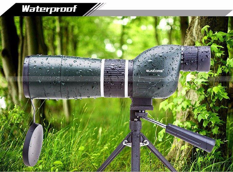 Suncore MS 15-45X60 Spotting Scope bird-watching monocular telescope with Professional ultra compact tripod