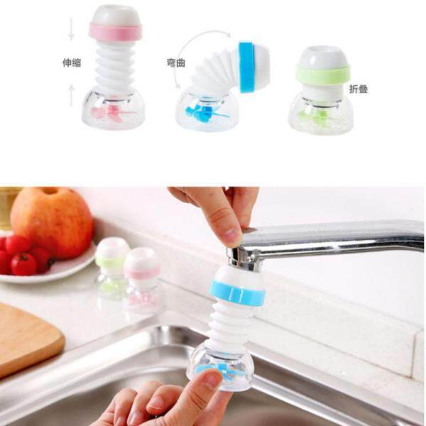 BolehDeals 360 Swivel Adjustable Faucet Water Saver, Saving Aerator Blue