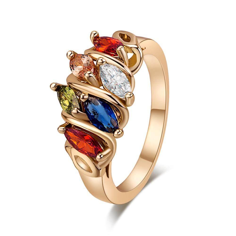 Wanita Modis Titanium Perhiasan Yang Dihias Hadiah (5.25 #)-Intl