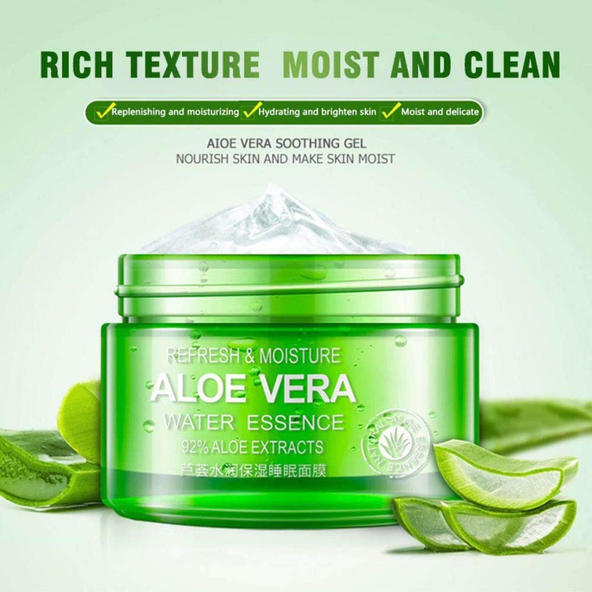 Fitur Bioaqua 92 Aloe Vera Water Essence 100g Bqy6186 Dan Harga Soothing Gel 160ml 2