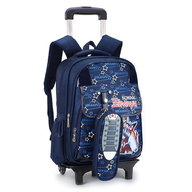 1c3fd68ed0 Singapore. MWT8 Primary School Trolley Bag Girls Bag Removable Backpack