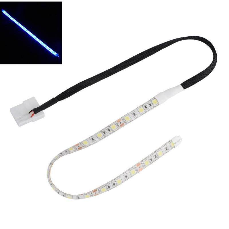 Bảng giá Justgogo 30cm Self-Adhesive LED Light Strip,Big 4PIN D-Type Interface for PC Computer Case Blue - intl Phong Vũ