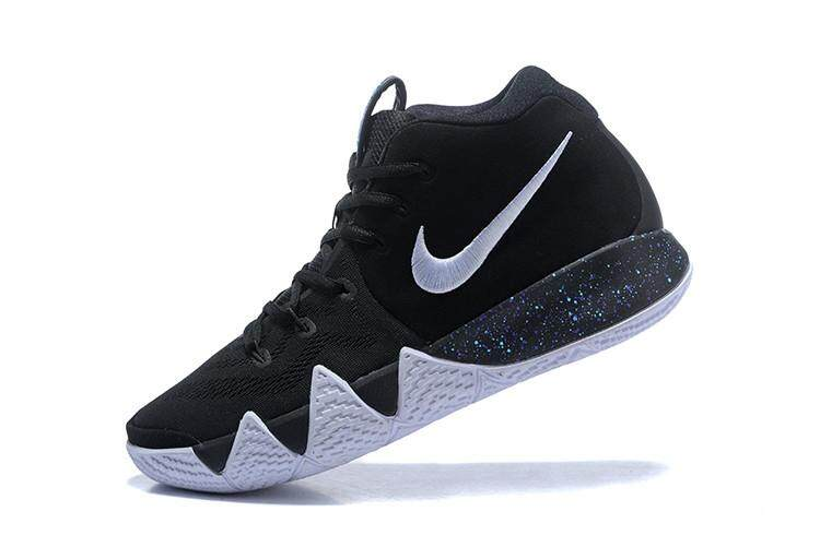 Kyrie Irving 4 Men's BASKETBALL SHOES Authentic 2018 Kyrie Irving IV Four Comfortable NBA Official Shoes Breathable Boston Celtics #11 Sneakers What The Kyrie Adult Size:40-45 Black Red - intl