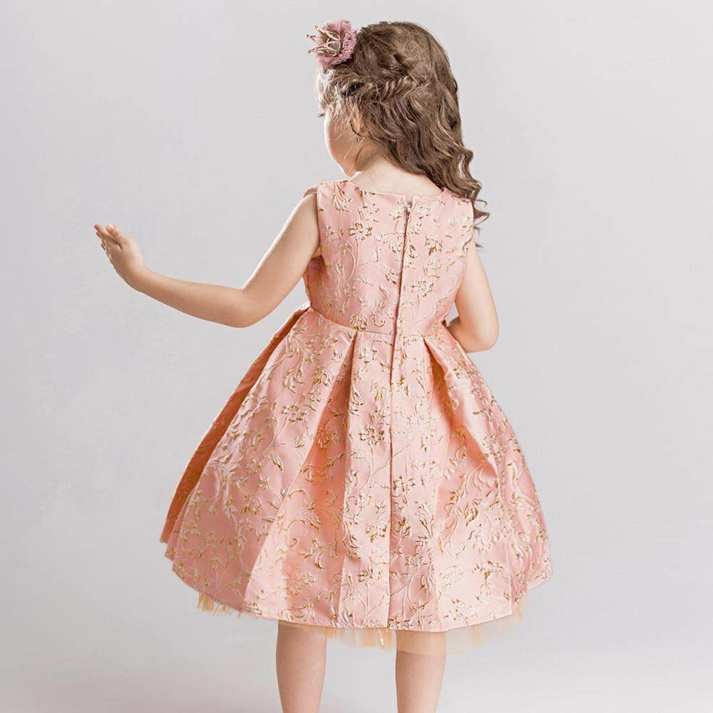 Teresastore Flower Girl Princess Bridesmaid Pageant Lace Tutu Tulle Gown Party Wedding Dress