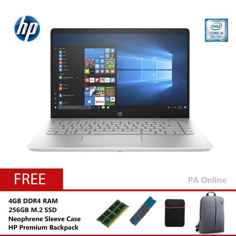 HP Pavilion 14-bf102TX-256GB /Intel Core i5-8250U/8GB DDR4/256GB+1TB HDD/14FHD LED/NVD 940MX 2GB DDR5/2 years Warranty/Windows 10 Home Malaysia