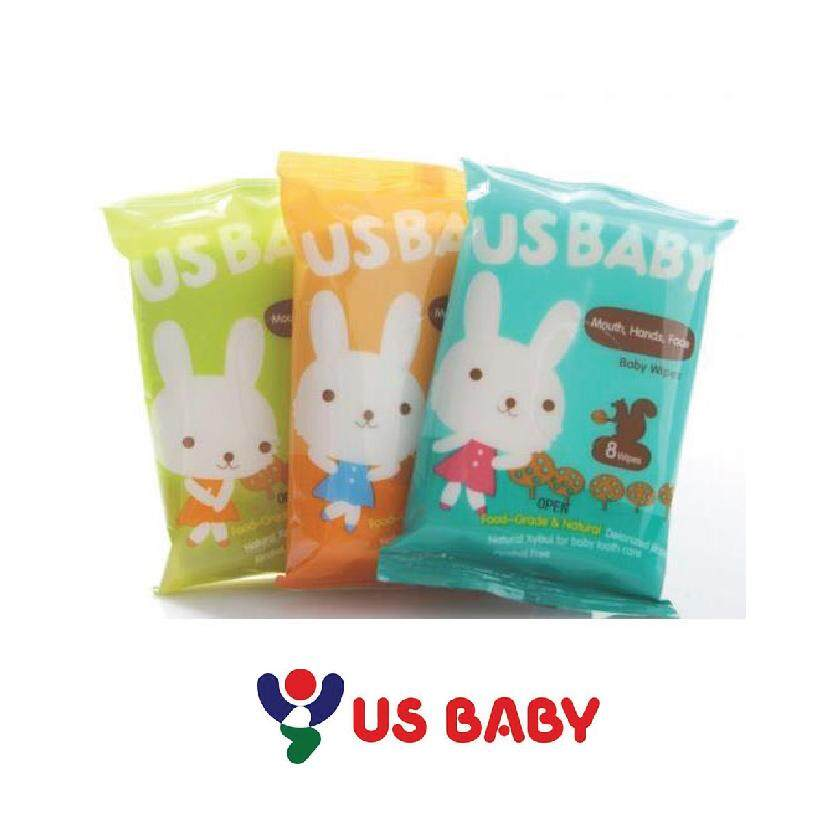 US Baby Wipes: Mouth Hand Face