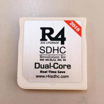 2018 R4 R4i White Dual Core Flash Card Adapter for Nintendo DS 2DS New 3DS  XL V1 0-11 6