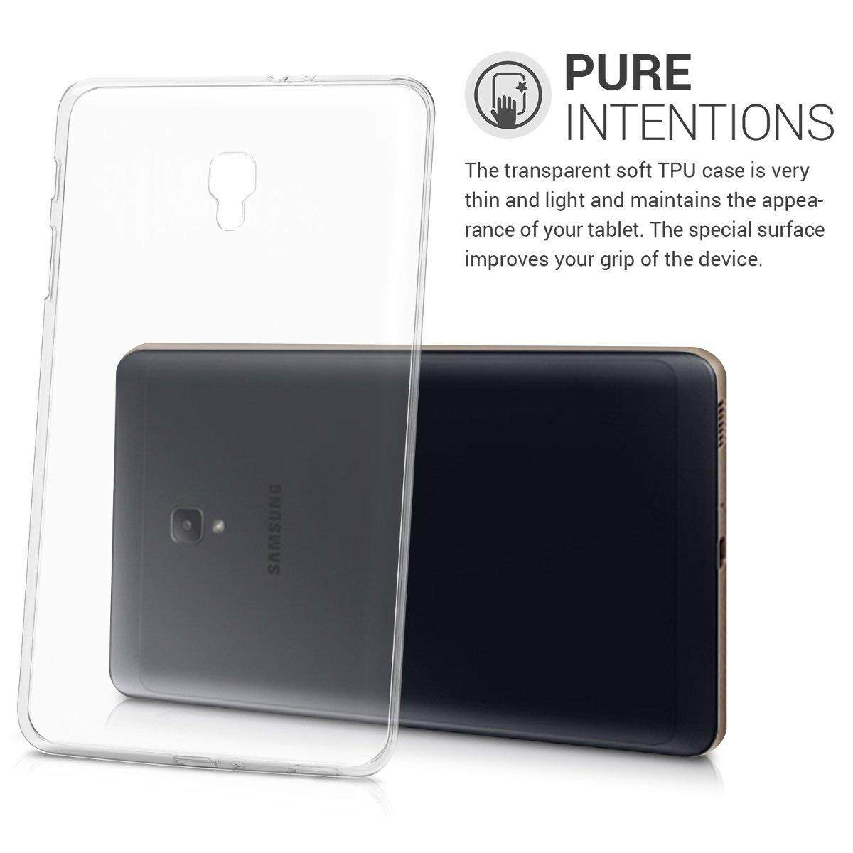 Features Crystal Case For Samsung Galaxy Tab A 8 0 2017 T380 T385 Flip Book Cover Inch 80 Sm Tpu Silicone