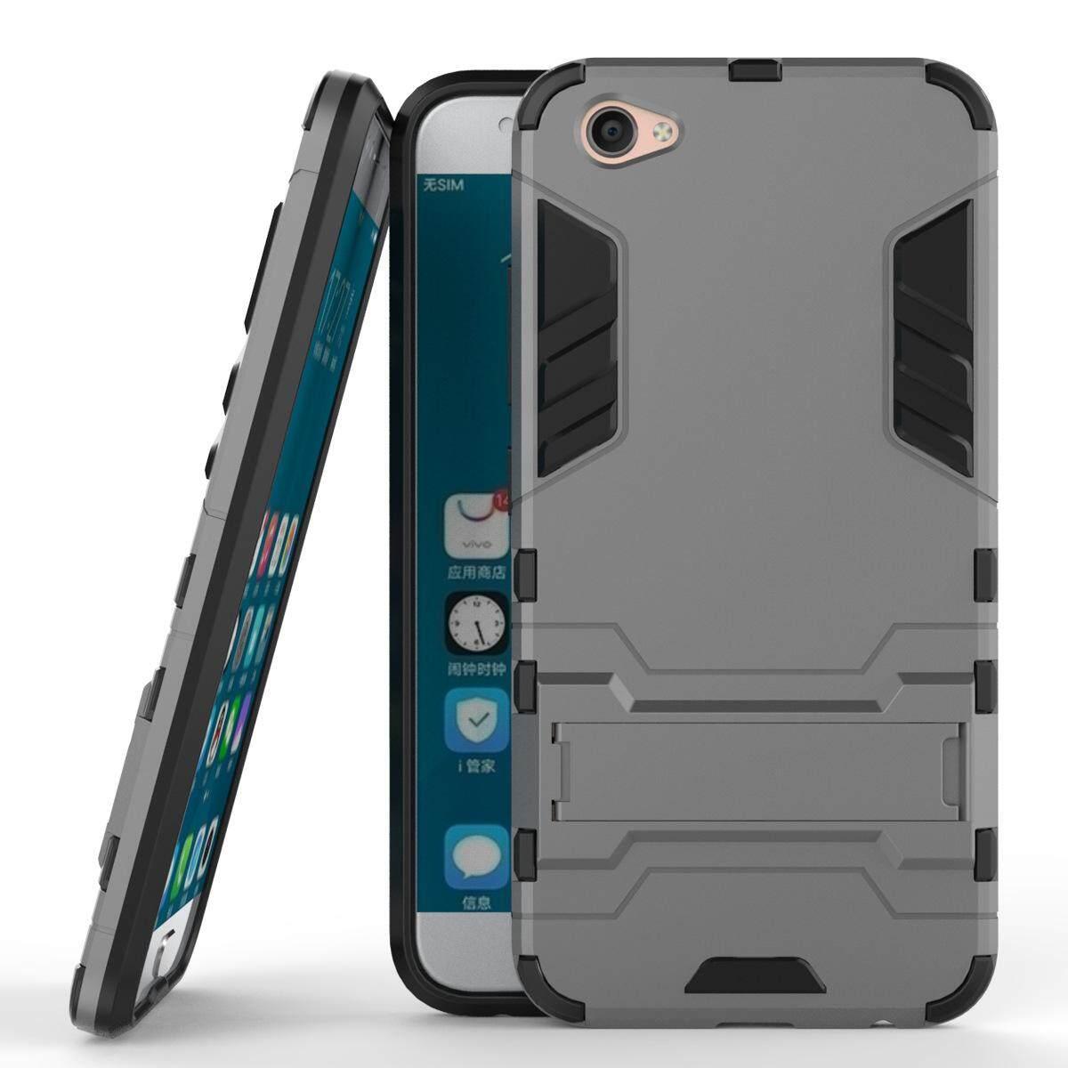 Hình ảnh for Vivo X9 & V5+ & X9S Case 2in1 PC+TPU Hybrid Slim Back Case Ultra Thin Armor Cover, with Kickstand Holder, Glossy, Minimalist, Casual