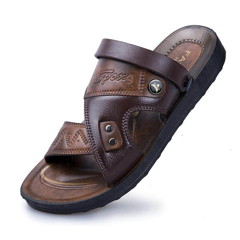 Fashion Leather Sandals For Men Breathable Mens Beach Shoes Casual Shoes Outdoor Sandals For Men Ag744 By Mai De Hao.