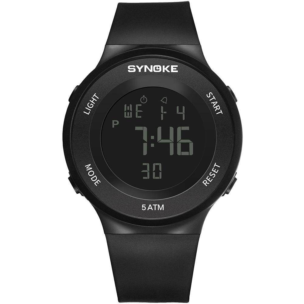 (black)Diving & Swimming Waterproof Digital Watches Wrist Sports Watches Students electronic Watches with