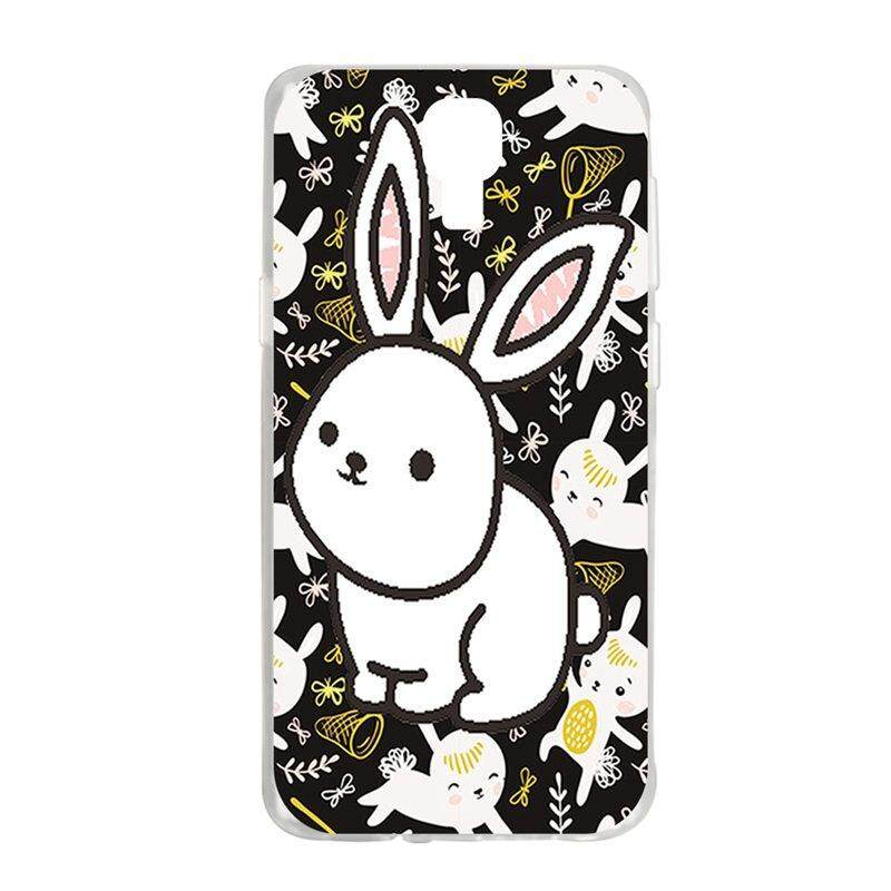 White Rabbit TPU Soft Silicon Phone Case Cover For Samsung Galaxy S4 I9500