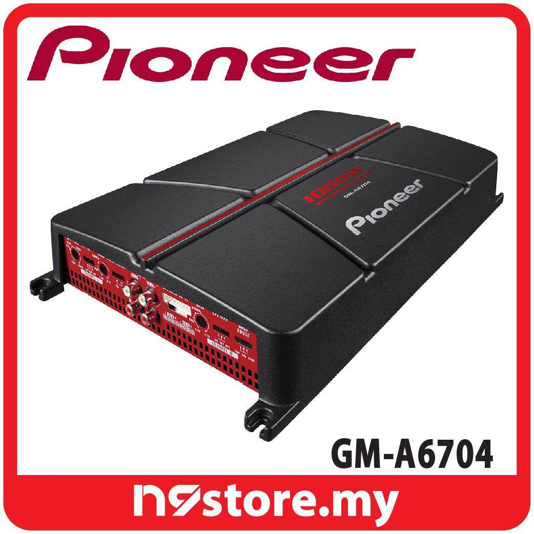 Pioneer GM-A6704 4 Channel AB Amplifier 60W x 4 at 4 ohm