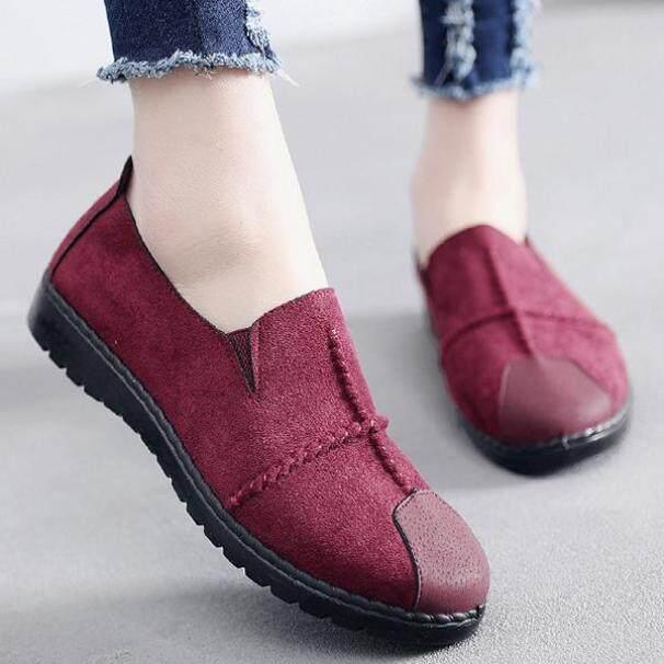 Giày lười đế mềm thoáng khí thời trang cho nữ giá rẻ