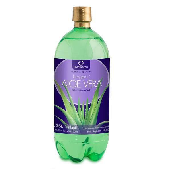 Lifestream Biogenic Aloe Vera Juice 1250ml (99.7% Pure & Organic)