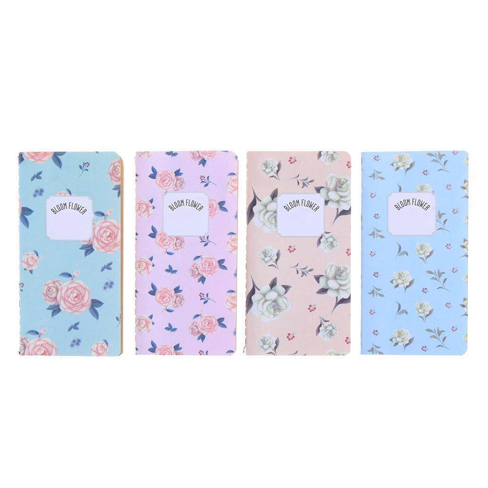 Mua 4pcs Retro Flower Notebooks Notepad Student Stationery Home Office Supplies(Multicolor)-3 - intl