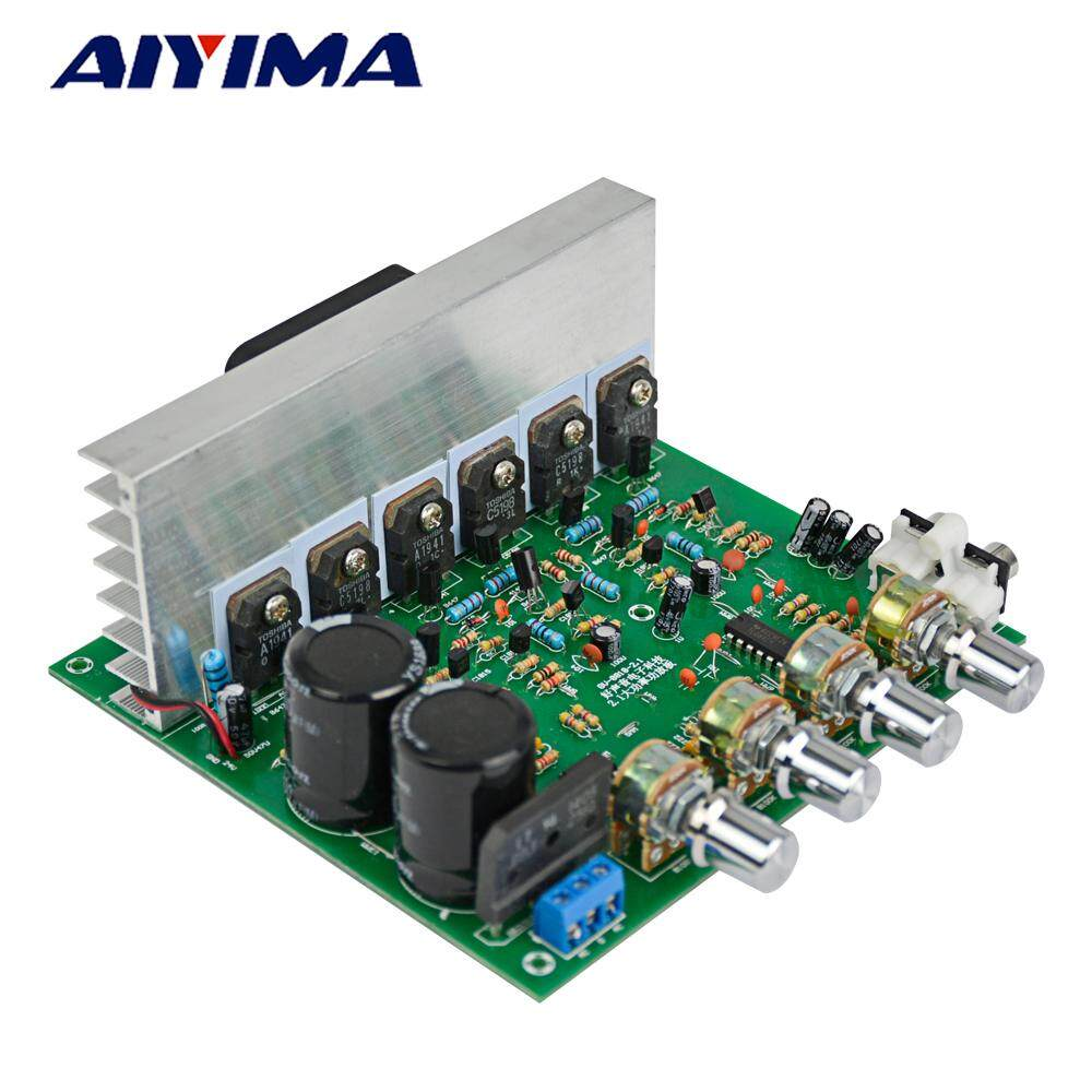 Aiyima Double 15-28v Ac High Power Deep Bass 2.1 Amplifier 3 Channel Subwoofer Professional Amplifier Board By Honglan Co., Ltd..