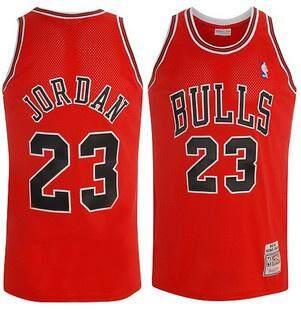 Nike Original Men Chicago Bulls Michael Jordan23 1997-98 Authentic Red Basketball Jersey S-2xl Comfortable By Pqqrvokb.