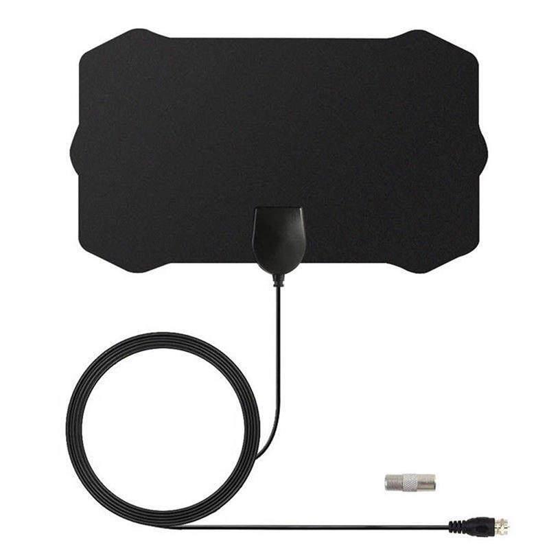 YANYI 120 miles of Digital TV Antenna 1080P HDTV Indoor TV antenna with radio signal booster Surf Fox HD Mini aerial antennas