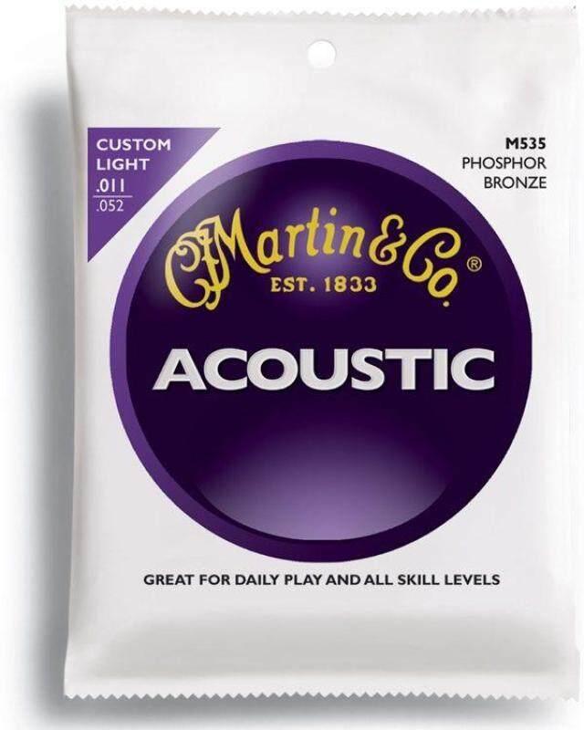 Martin M535 Acoustic Guitar Strings 92/8 Phosphor,011-052 Malaysia