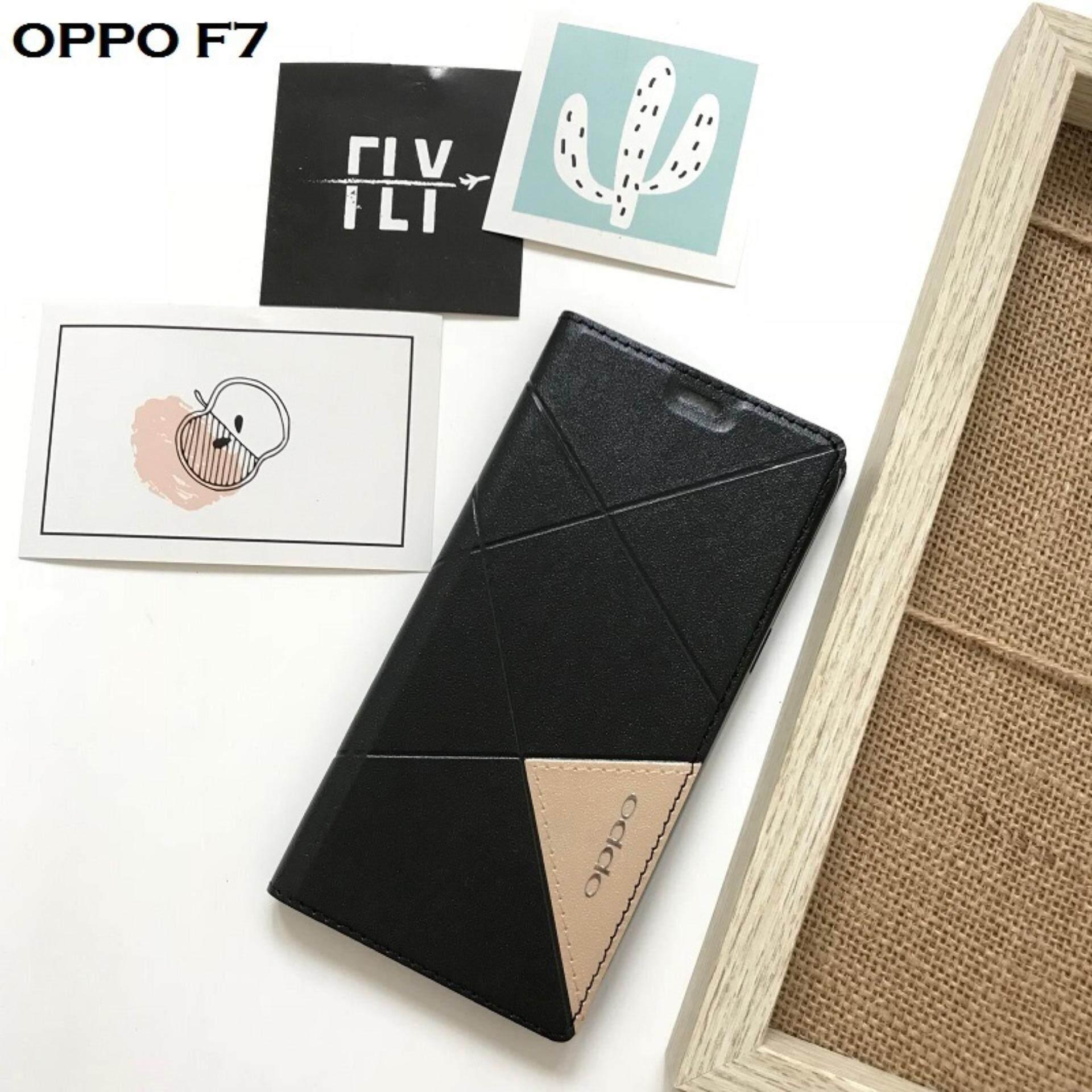 MYR 25. ELEVEN 2 Full Cover PU Leather Flip Case for OPPO F7MYR25. MYR 25. OPPO F7 cover Smart Plating Mirror Flip case for OPPO F7 cases Clear View Housing ...