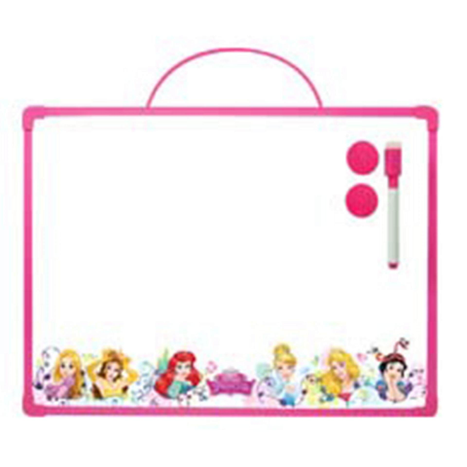 Disney Princess White Board - Pink Colour