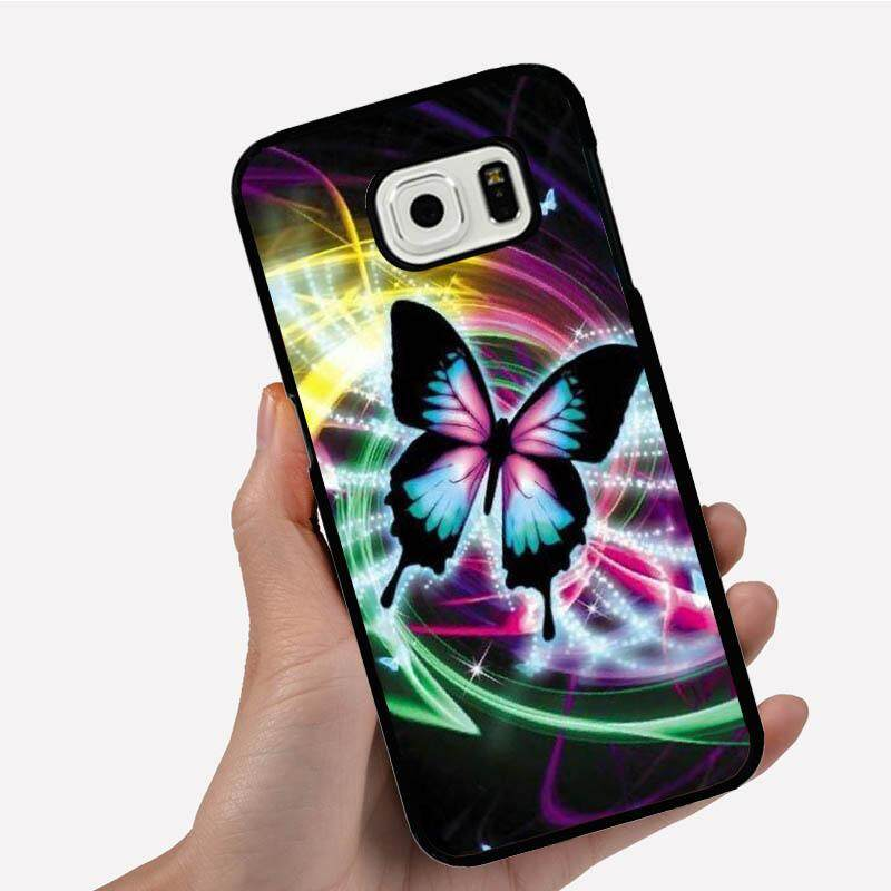 Phone Case For Samsung Galaxy S3 mini One Big Butterfly In Cool Background Cartoon Image Pattern Plastic Anti-Knock Phonecase Cover