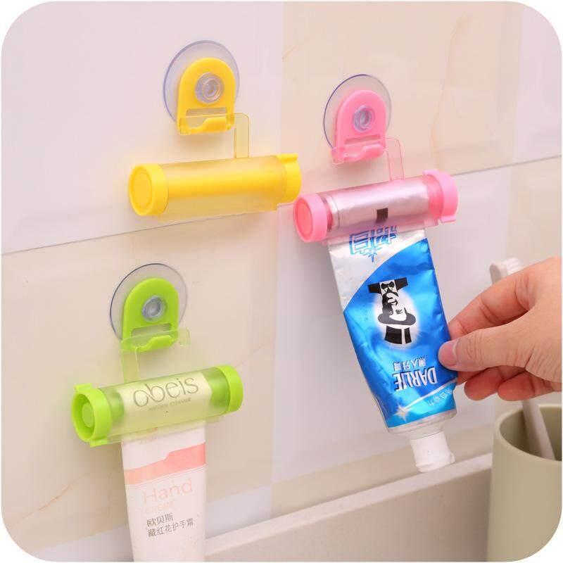 Kamar Mandi Praktis Rolling Tabung Pasta Gigi Pemeras Berguna Mudah Dispenser .