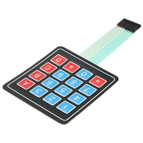 4 x 4 Matrix Array 16 Key Membrane Switch Keypad Malaysia