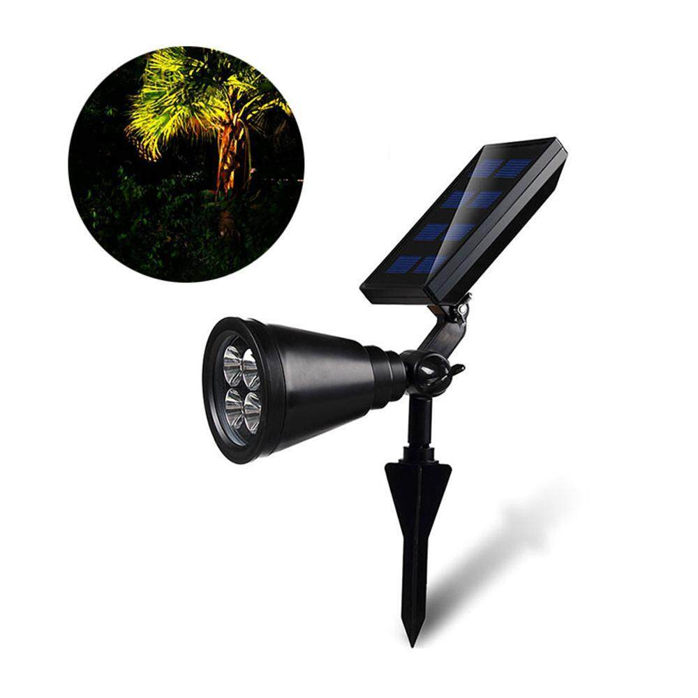 GoodGreat 4LED Outdoor Waterproof Garden Landscape Lamp For Outdoor Lawn Lamp With Solar Energy - intl