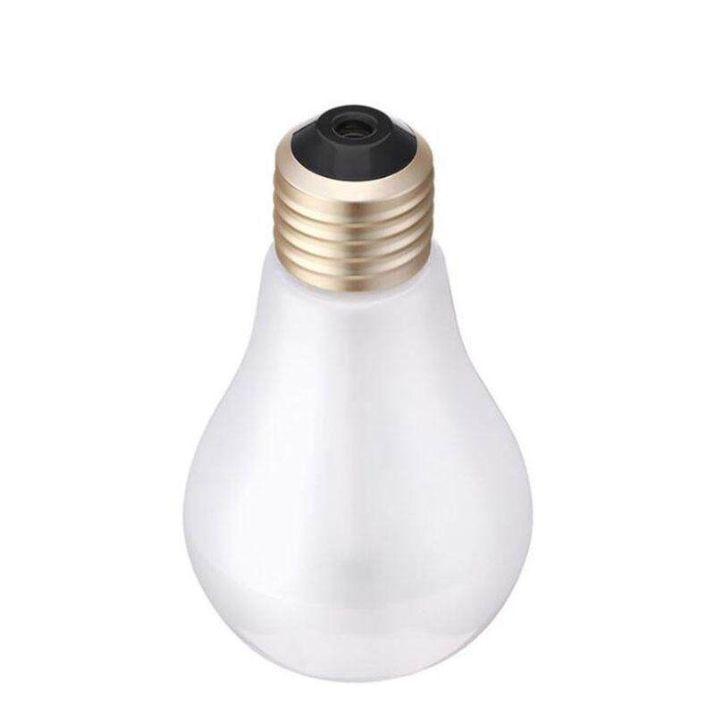 Efashionmall Light Bulb Ultrasonic Humidifier Home Office Bed Desktop Small Aroma Diffuser By Efashionmall.
