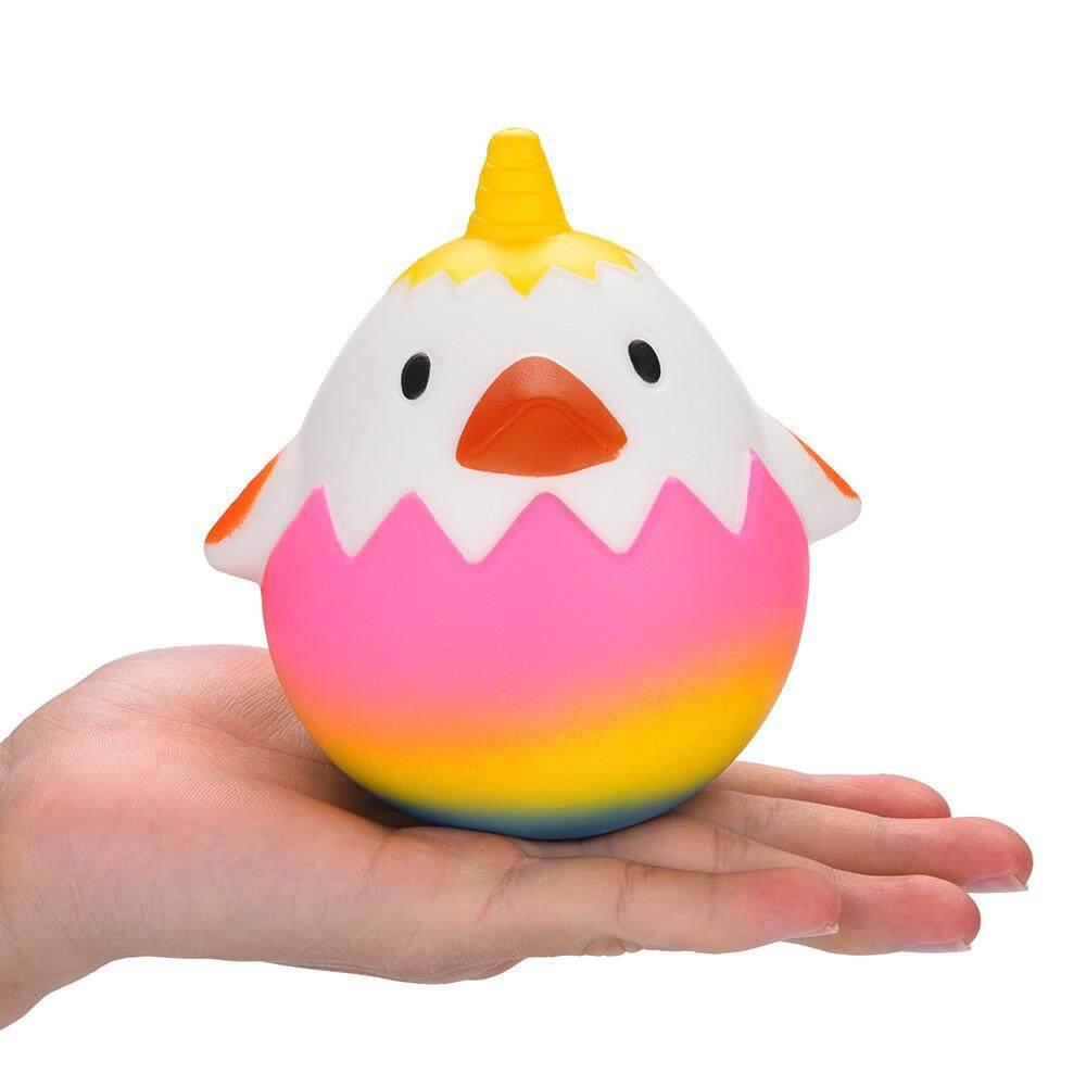 Foctroes Telur Ayam Beraroma Squishies Lambat Rising Mainan Anak Mainan Pelepas Stres Hop Alat Peraga