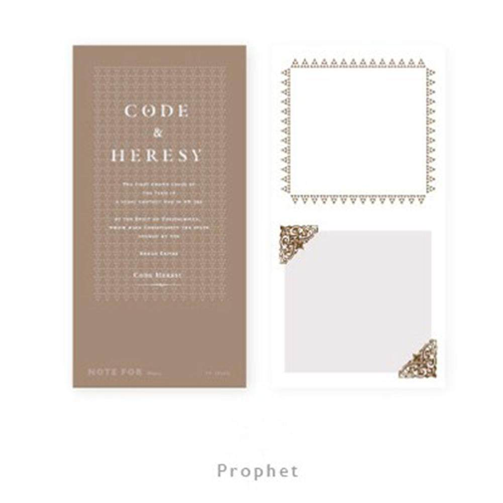 Practical Note Pads Notebook with Cute Pattern Office School Supplies Style:deacon - intl