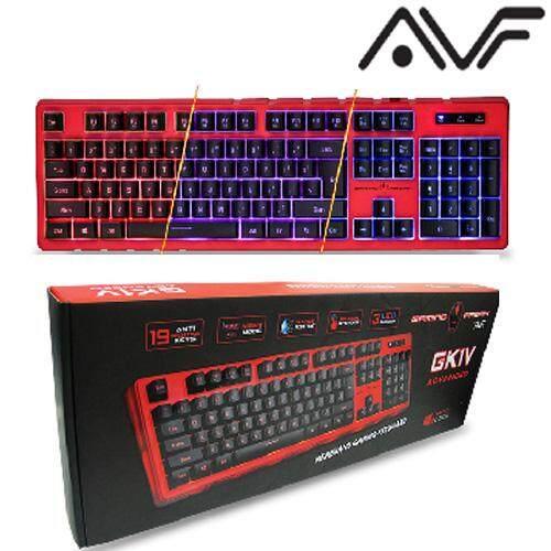 Official AVF AKB-GK1V Usb Gaming Freak  Keyboard