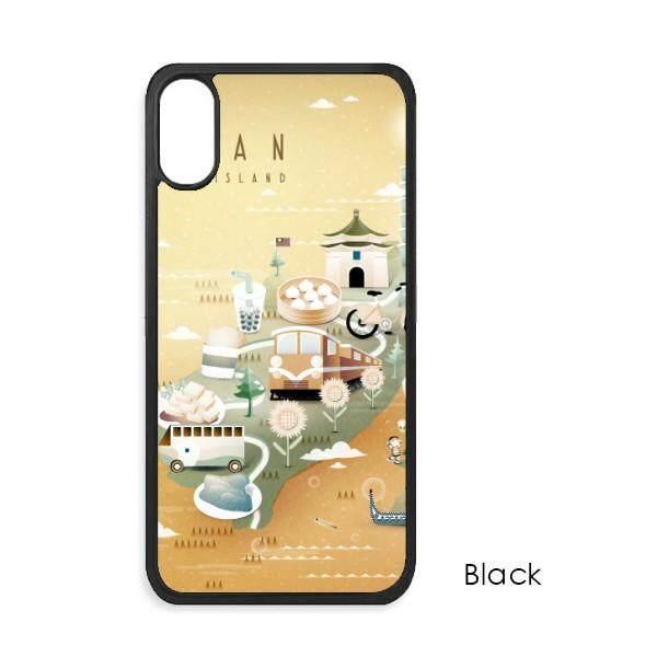 Indah Islead Taiwan Perjalanan untuk iPhone X Case S Telepon Case Apple Cover Case Hadiah-Intl