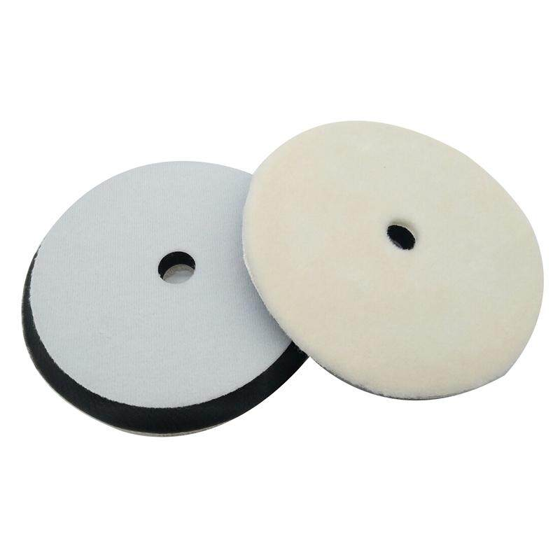 Black+white+beige Buffing Polishing Wax Wheel Auto Furniture Polishing Pad (1pc, Thin) By Yomichew.