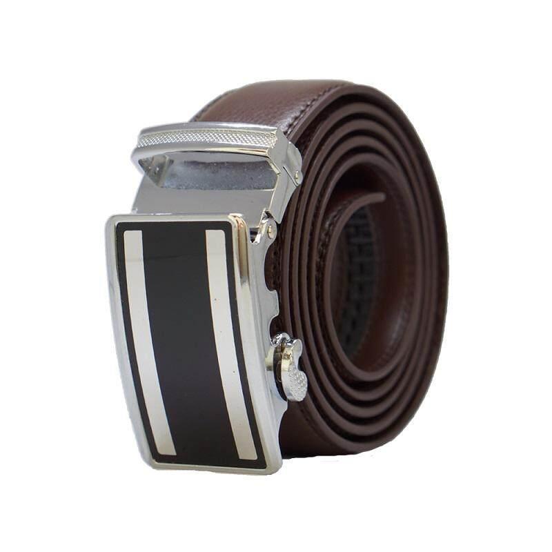 A60 High Quality Original Men Calf Skin Business Man Leather Belt - Adjustable Strap for Size M , L