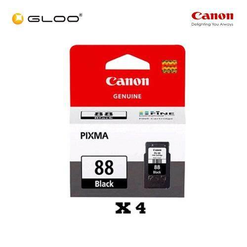 [Set of 4] Canon Ink Efficient PG-88 Ink Cartridge - Black
