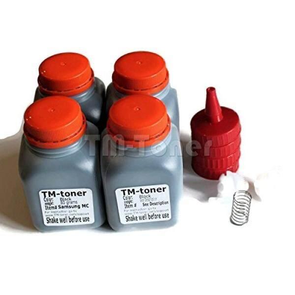 Printer Laser Drum & Toner TM-TONER©4 Kali Toner Yang Kompatibel Perlengkapan Isi Ulang dengan Gear untuk Dell E310dw, E514dw, E515dw, E515dn Dell Printer P7RMXE, 593-BBKD (Pvthg)-Intl